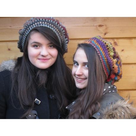 Grenobloise - crochet beret