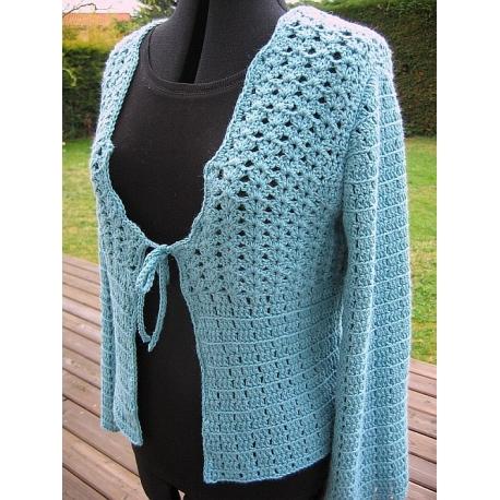Gudrun - crochet cardigan