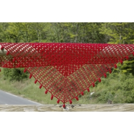 Heloise - crochet shawl