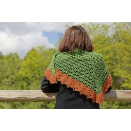 Scottish Island - crochet shawl
