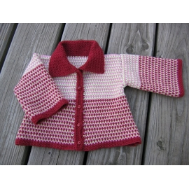 Manon - crochet baby jacket