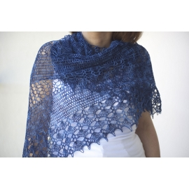Summer Breeze - crochet shawl
