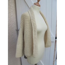 OXIXO - knitted and crocheted jacket