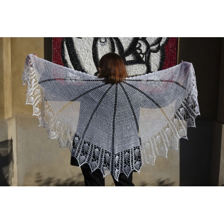 Such a beautiful bride - crochet shawl
