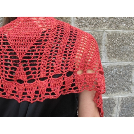 Antonia - shawl and pouch