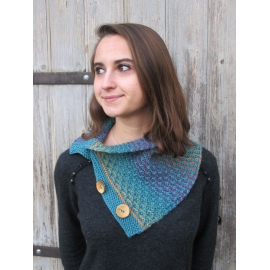 Solfège - knitted cowl
