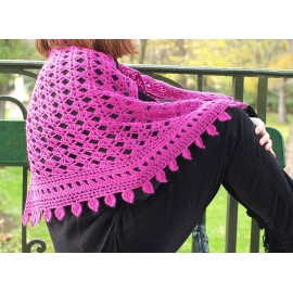 Armorique - crochet shawl