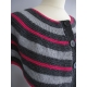Rytmik - shoulder-warmer or poncho, knitted