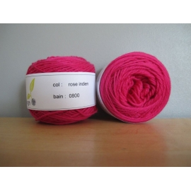 Merino fingering weight Colour-Merino fingering weight - hot pink