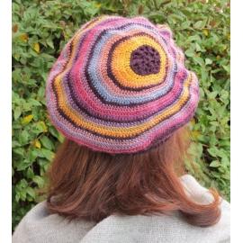 Excentrique - beret crochet