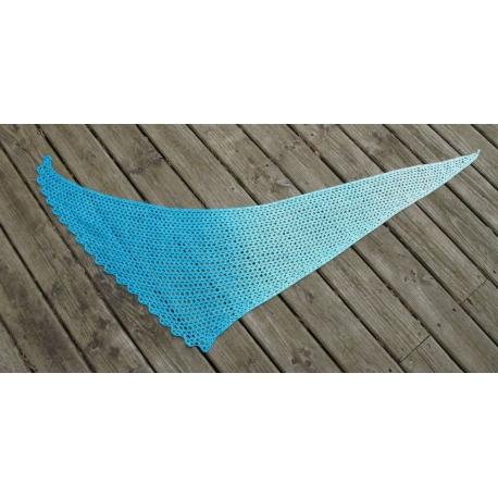 Wave - crochet shawl