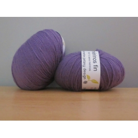Merino fingering weight Colour-Merino Fingering Weight - Pansy