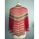 Lady in Red - crochet shawl