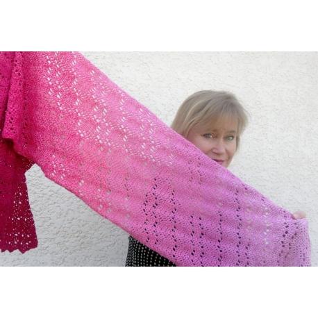Marie-Galante, crochet stole