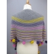 Guinguette - knitted shawl