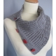 Brioche Seeds - knitted cowl