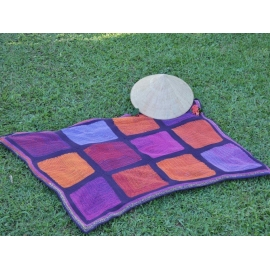 Kit for Colourful Hug blanket in Whirl and Whirlette