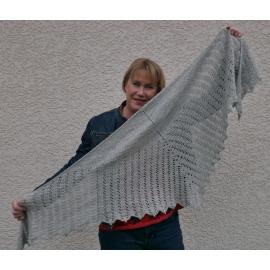 Circaetus - crochet shawl