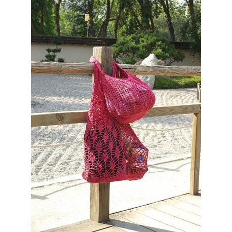 String bags in crochet