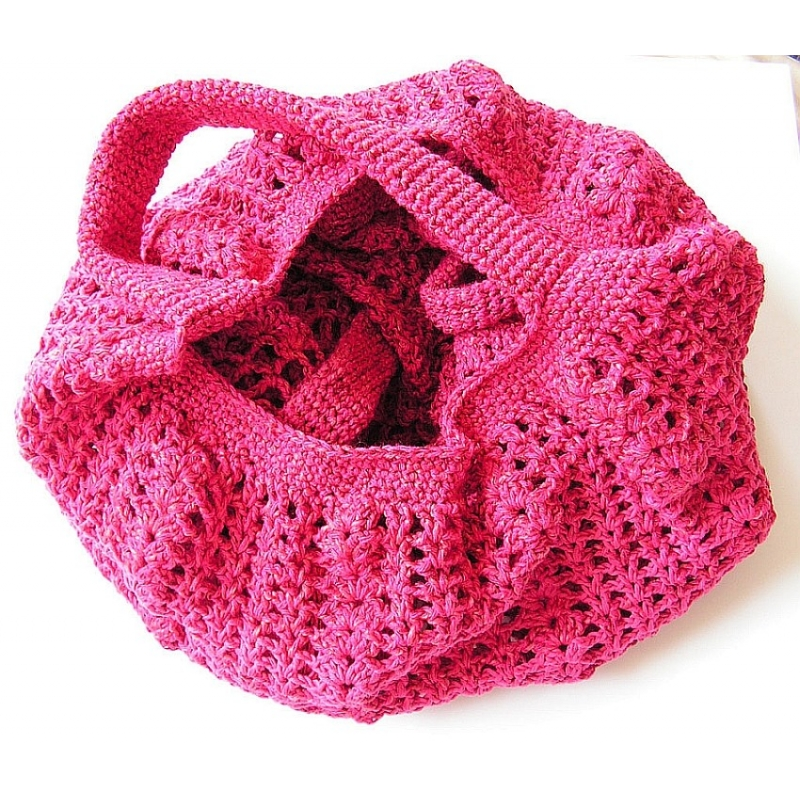 Crochet - patterns > String bags in crochet