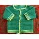 Robin - crochet baby jacket