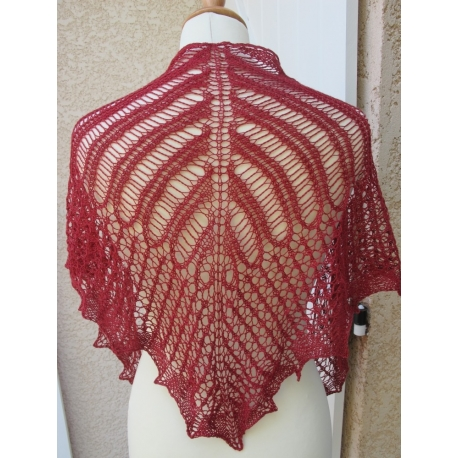 Quimperlé - knitted shawl