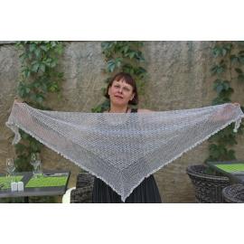 Mist - crochet shawl