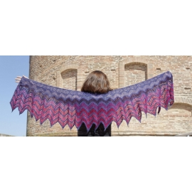 Pipistrelle - crochet shawls