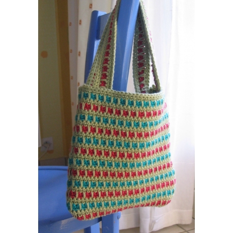 Chubby - crochet bag