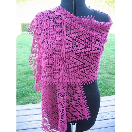 Arrows - crochet stole