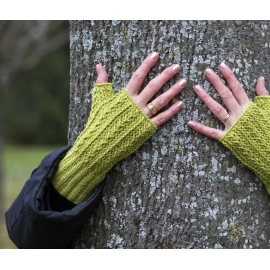 Crochet - fingerless mittens etc